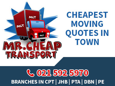 Mr Cheap Transport - We pride ourselves on being one of the CHEAPEST moving companies in town, offering a renowned REMOVAL experience which is unbeatable. We have moved over 10 000 loyal satisfied customers! Call us for Home / Office Removals & Storage Services